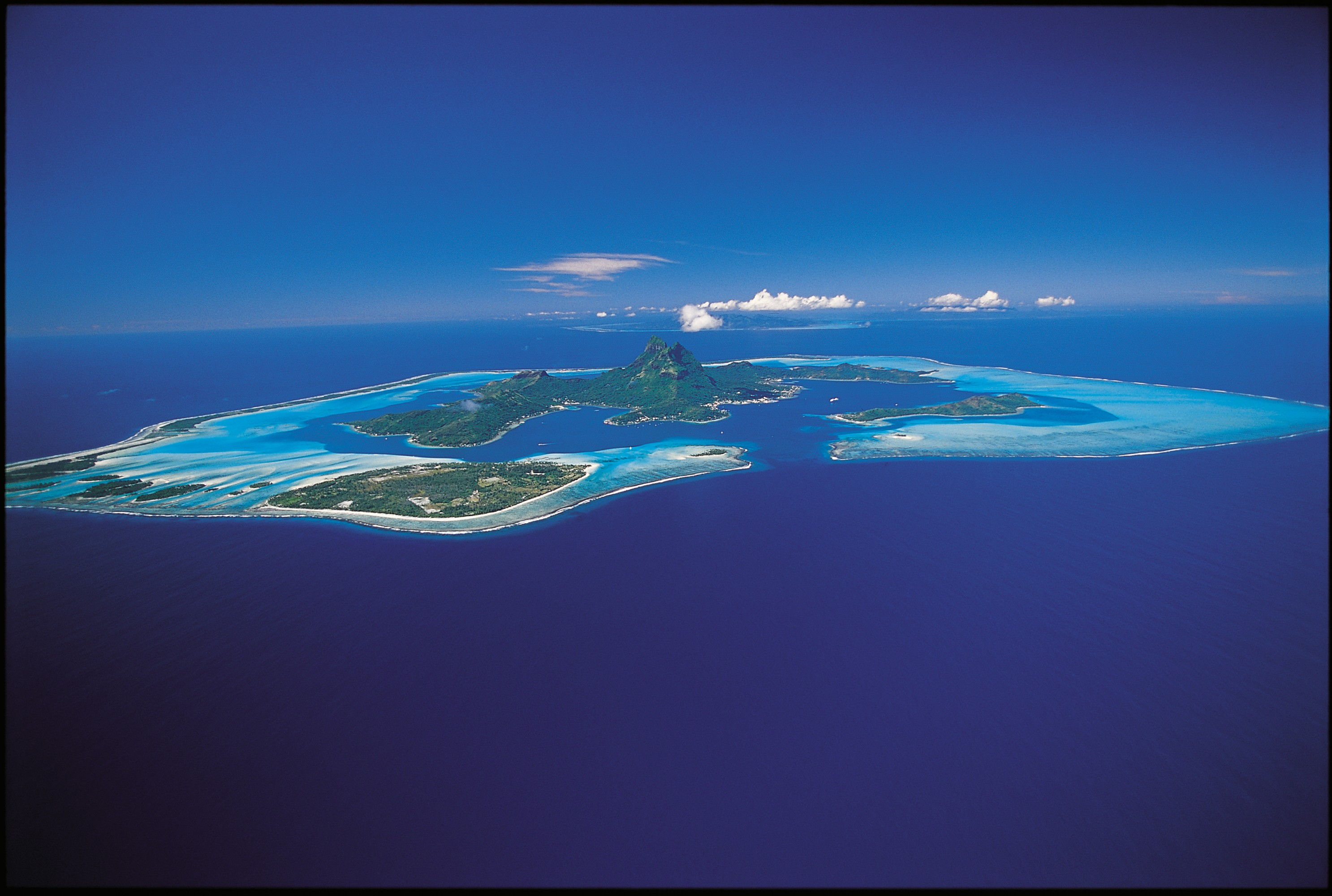 波拉波拉岛:最早诞生